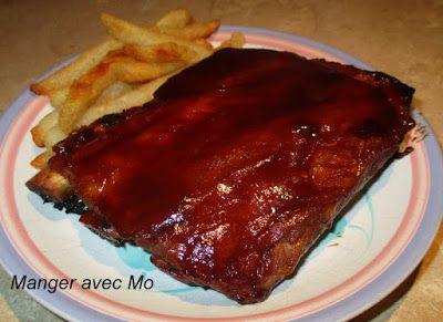 Manger avec Mo: VRAIES CÔTES LEVÉES BBQ (STYLE BÂTON ROUGE)