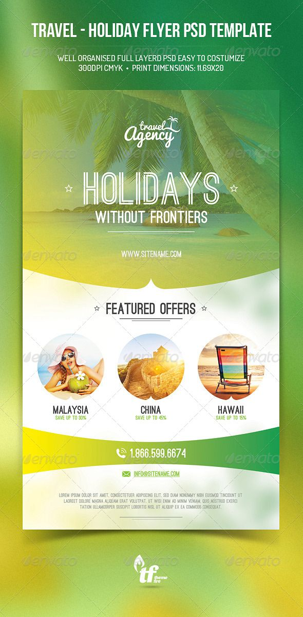 286 best Travel Flyer   Print Template   PSD images on Pinterest - winter flyer template