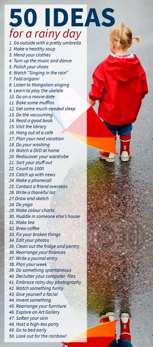 25+ best ideas about Rainy day dates on Pinterest | Day date ideas ...