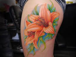 thigh tattoos for females - Google Search