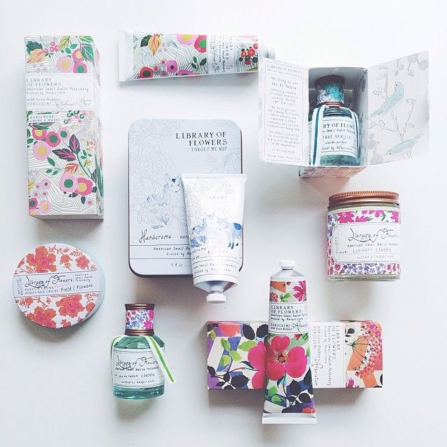 flowery cosmetics