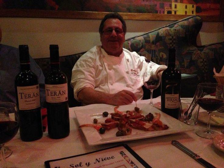 Los #vinos Marqués de Terán aterriza en Chicago, en concreto en el Restaurante Sol y Nieve