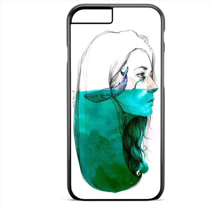 Whale Inside Mind TATUM-11877 Apple Phonecase Cover For Iphone SE Case