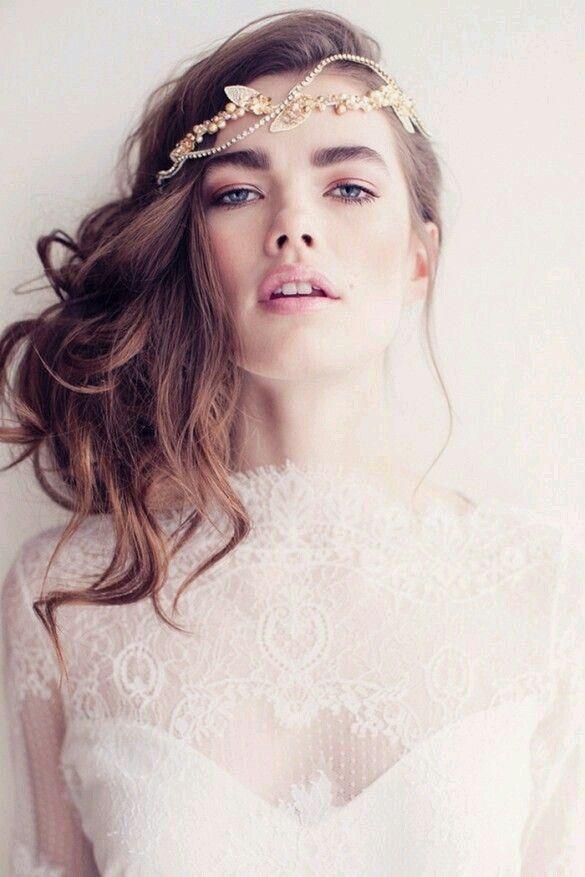 Gorgeous bridal look:) www.loveandink.com.au