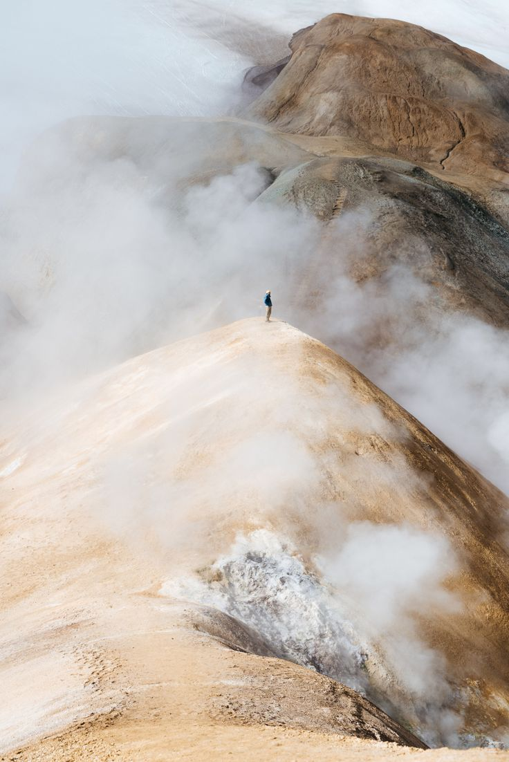 Hiking around Kerlingarfjoll, Iceland    IG: BToneVibes