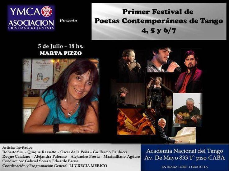 Primer Festival de Poetas Contemporáneos de Tango