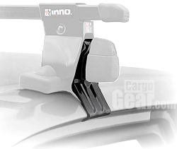 INNO Advanced Car Racks K607 SU/SUT/SX201/XS250 Fit Hook Set. Set of four hooks and stay pads. Compatibility: in-su/sut/Xs201/Xs205. Warranty: lifetime.