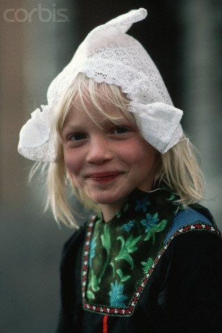 Girl in The Netherlands. 1980s-90s