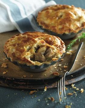 Food.  Acadian meat pies - moose or wild rabbit. A taste of New Brunswick.  #CDNGetaway!