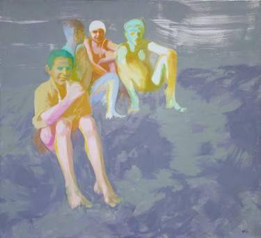 "Saatchi Art Artist Wojtek Herman; Painting, ""Where was it?"" #art"