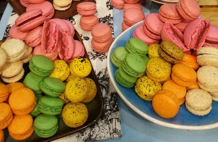 Macarons con Dami�n Betular