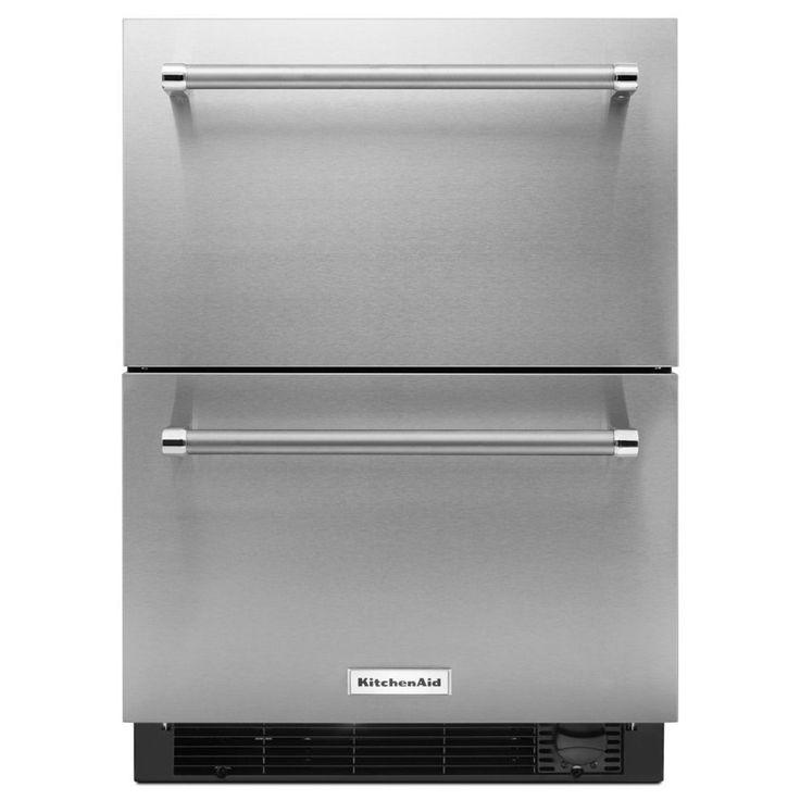 Kitchenaid 2375in builtin 2drawer refrigerator