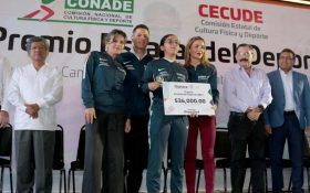 Entrega Gobernador Alejandro Murat Premio Estatal del Deporte 2017