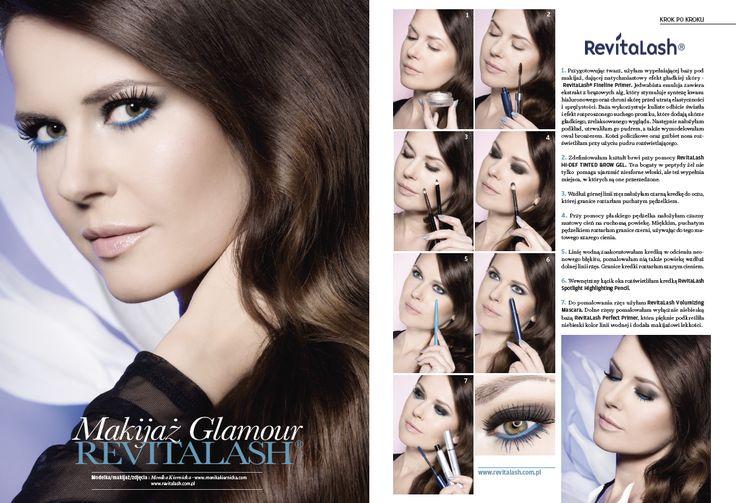 RevitaLash glamour make-up Make-up Trendy Magazine 2/2015