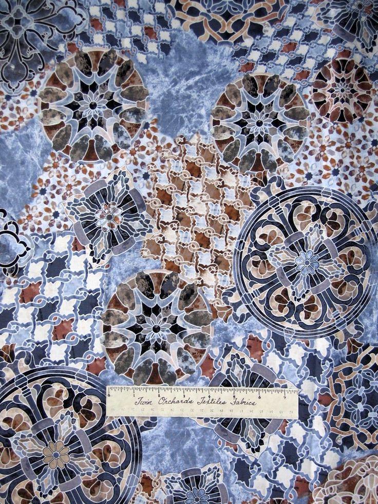 Timeless Treasures - Mosaic C8610-Natural