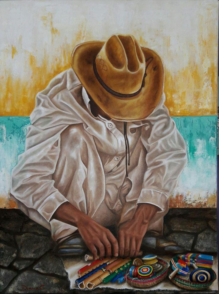 #manos #indito #mexicano #artesania #oleo