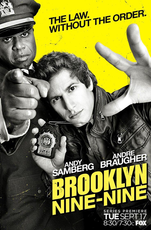 Brooklyn Nine-Nine de Dan Goor, Michael Schur. Avec Andy Samberg, Andre Braugher...