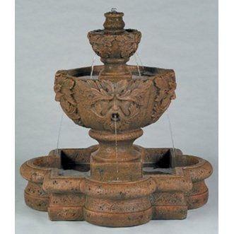 Greenleaf Majesty Garden Water Fountain