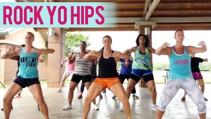 Crime Mob - Rock Yo Hips (Dance Fitness with Jessica)