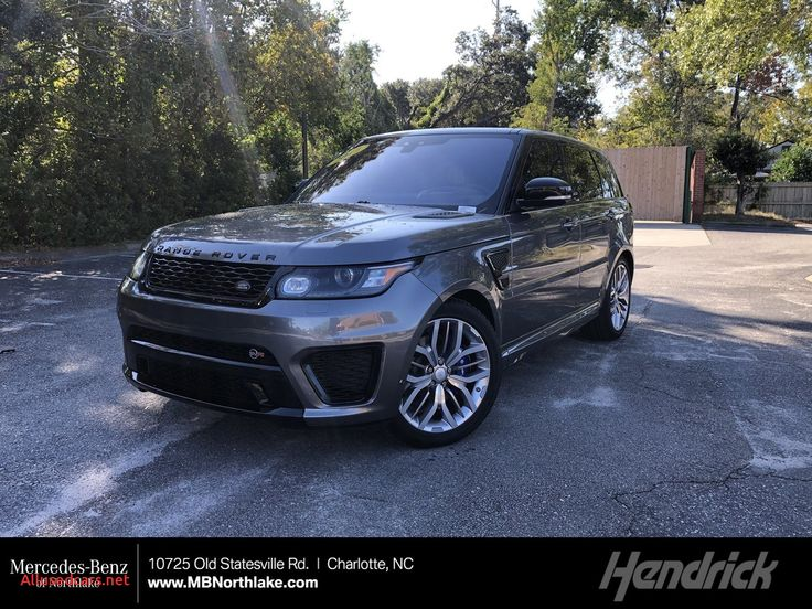 Range Rover Svr for Sale Beautiful Pre Owned 2017 Land