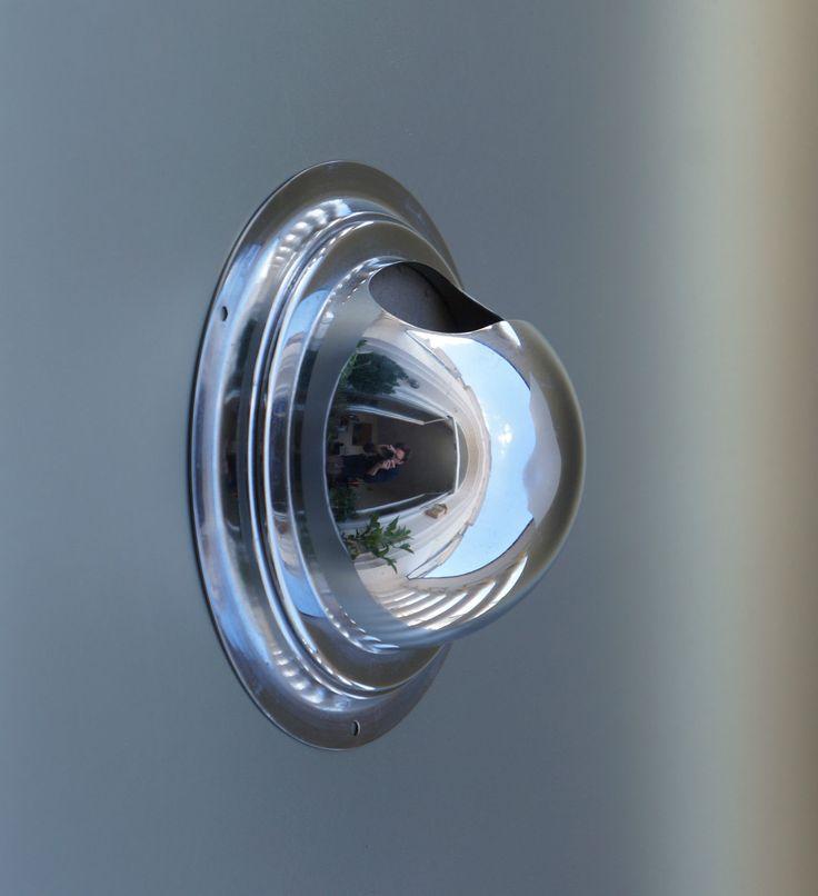 Cendrier mural chrome années 70 space age spoutnik demi sphère industriel loft | eBay