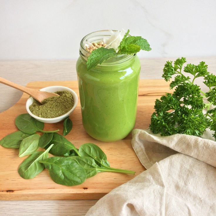 LEAN & GREEN SMOOTHIE (Full recipe on my Facebook page... Kathryn Chandler)