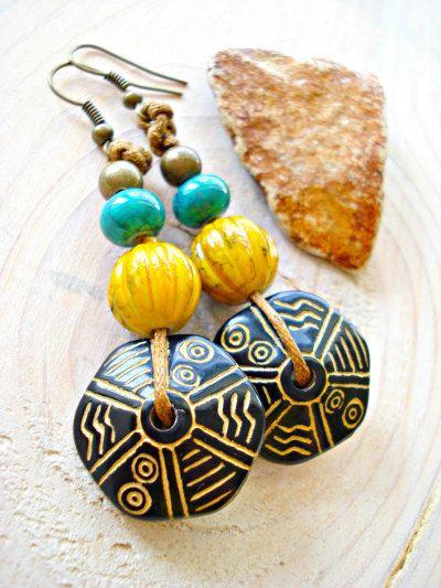 african earrings   Tumblr