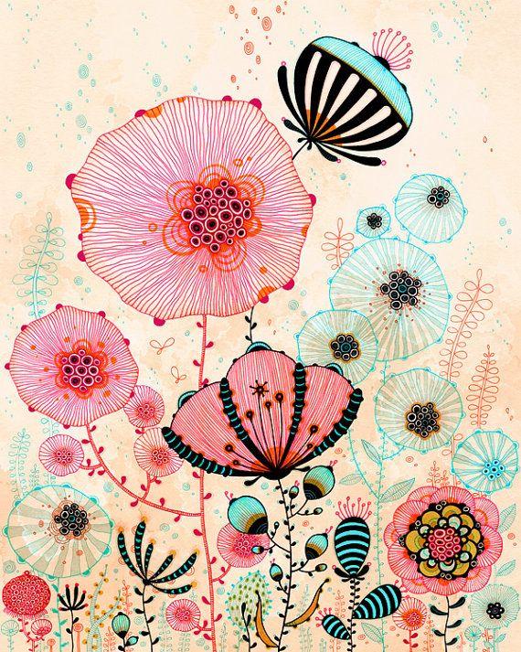 Etsy の Giclee Fine Art Print Morning Print by yellena