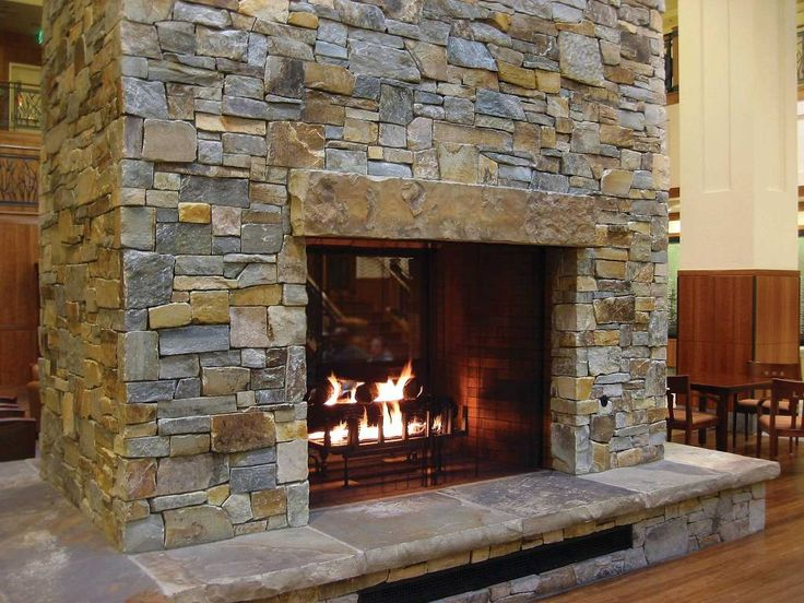Feuerstelle Naturstein Mcgregor Lake Ledge Thin Veneer From Montana Rockworks. #