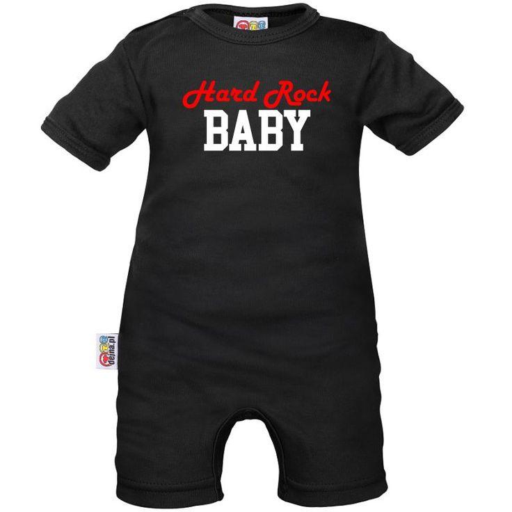 Barboteuse bébé : hard rock BABY
