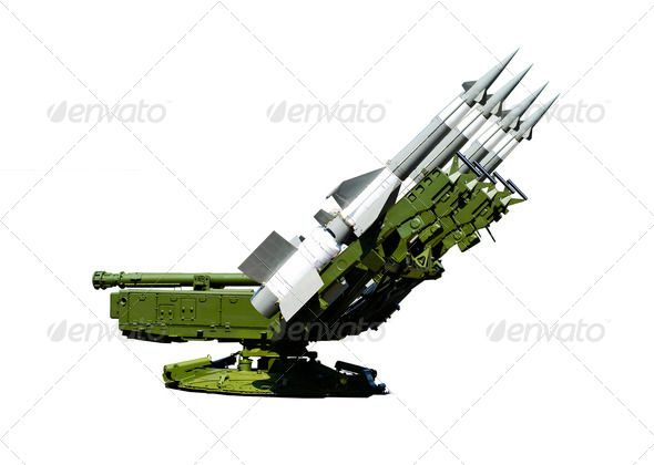 Military Equipment. Military Air Missiles. Isolated on White Bac ...  Self-Propelled, aggression, aiming, air, anti-aircraft, armed, army, bomb, camouflage, cloud, concepts, conflict, danger, day, destruction, equipment, explosive, forces, green, gun, horizontal, ideas, launcher, military, missile, objects, off, old, on, outdoors, photography, power, preparation, protection, rocket, russia, russian, security, sky, skyrocket, steel, taking, technology, threats, violence, war, weapon, white