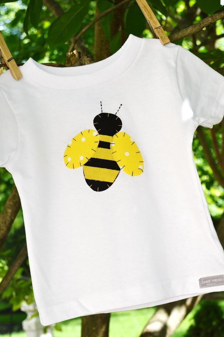 Happy Quot Bee Day Quot Bumble Bee Applique Shirt Or Onesie Sizes