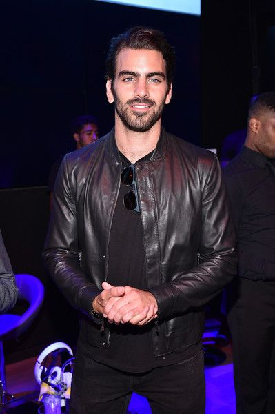 Model Nyle DiMarco attends NYFW: Men's celebration at Samsung 837 in New York City.
