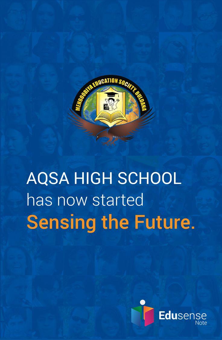 Aqsa High School is experiencing the future with Edusense Note #EdusenseNote