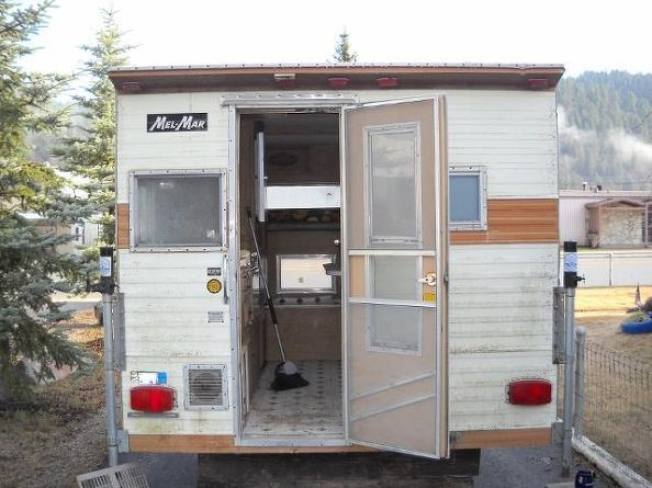 Old Cab Over Camper Make Over Home Home Decor And Campers