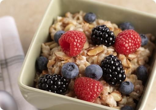 Driscoll's Multi Grain Mixed Berry Hot Ceral.   Driscolls.com