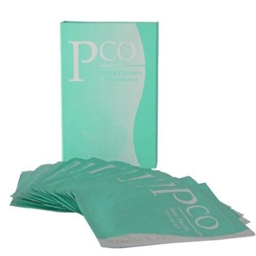 PCO Koyun Plasentası Maskesi Sheep Placenta Whitening Mask 12 adet +3 Adet Hediye