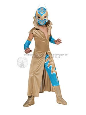WWE Sin Cara Boy's Costume. Sin Cara will be in the inaugural Andre the Giant battle royale, but will he have enoguh to win it?!