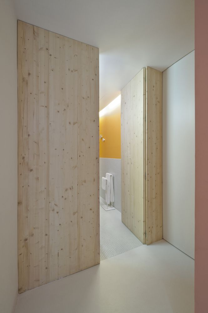Gallery - Tyche Apartment / CaSA + Margherita Serboli - #wood #doors