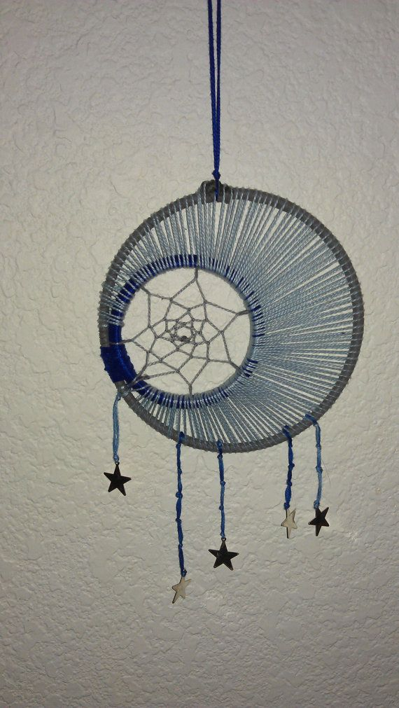 Hey, I found this really awesome Etsy listing at http://www.etsy.com/listing/129487547/moon-dreamcatcher-with-stars