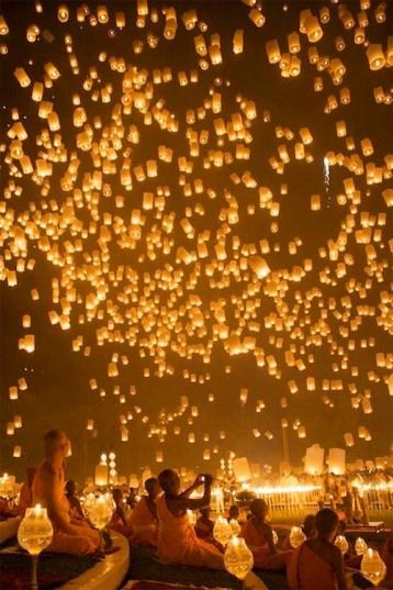 Festival delle lanterne volanti