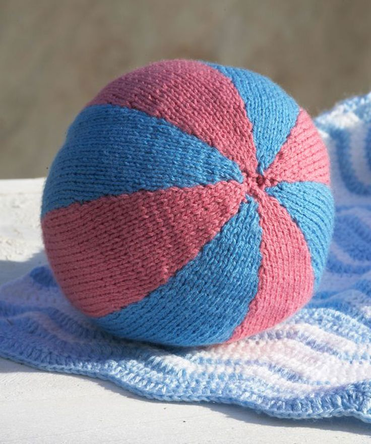 Ball for Baby - free knitting pattern