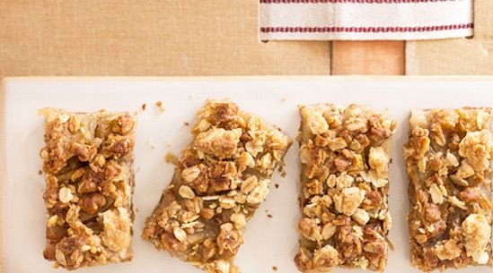 Apple-crisp Bars You Can Make In One Bowl   Recipes - PureWow