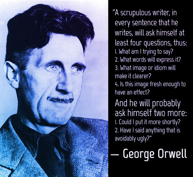 george orwell why i write annotations for the great