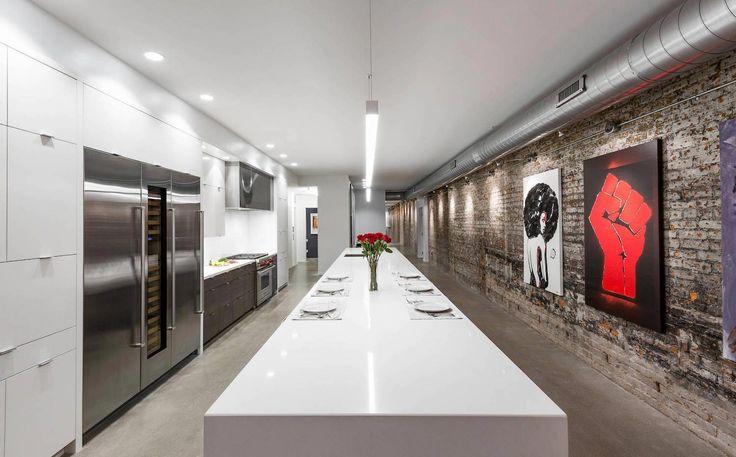 Modern Authentic Loft Like Living Environment Expressed Industrial  · Home Design  BlogsModerne ...