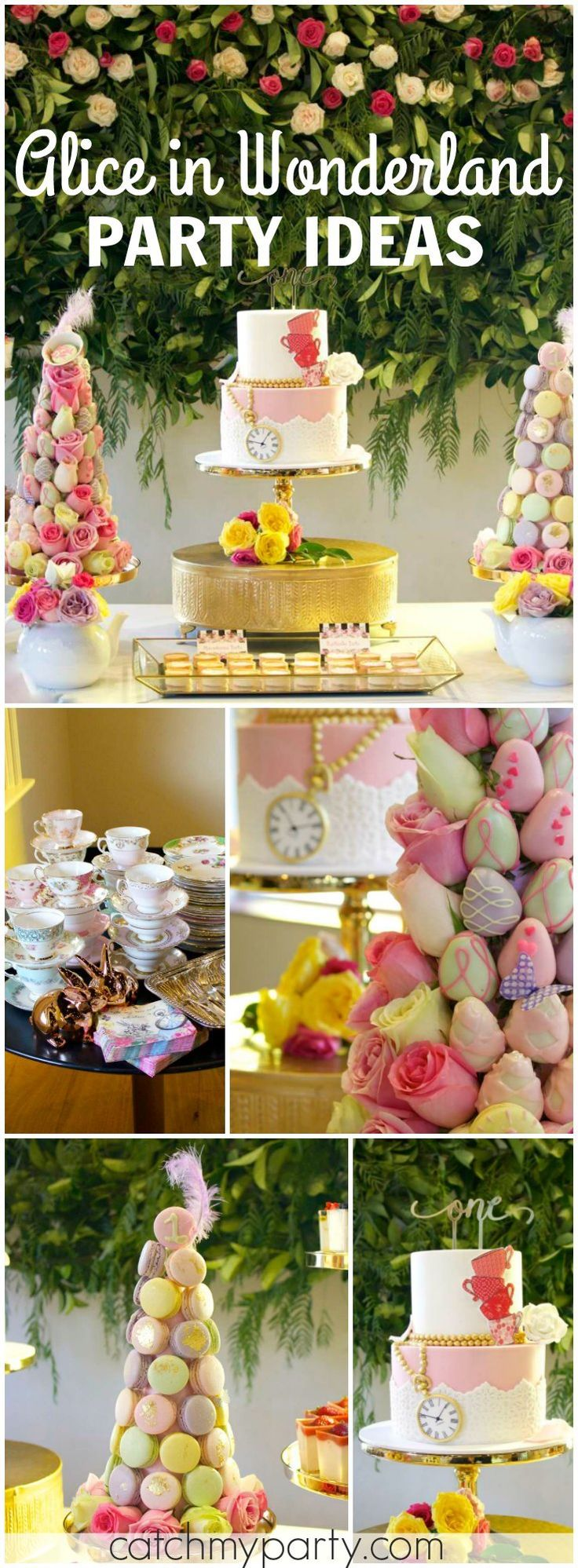 741 best Alice in Wonderland Party Ideas images on Pinterest ...