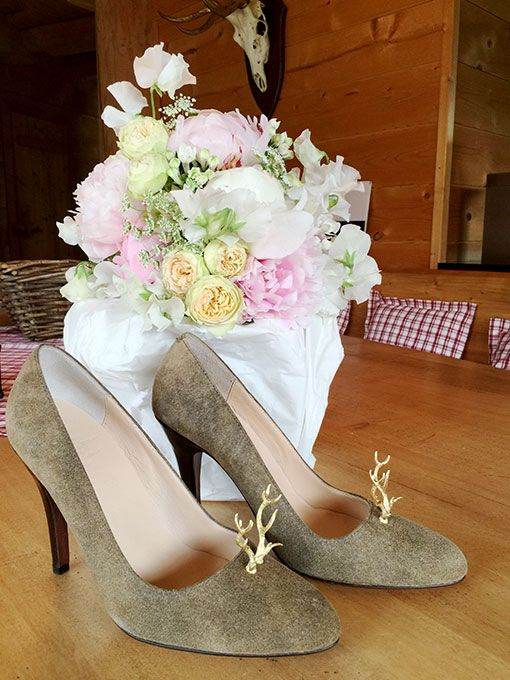 German traditional wedding with custom made shoes by selve munich