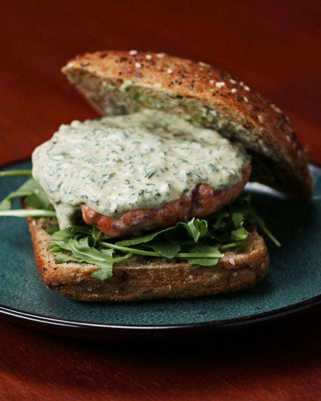 Zesty Salmon Burgers   Make Dinner Amazing With These Zesty Salmon Burgers