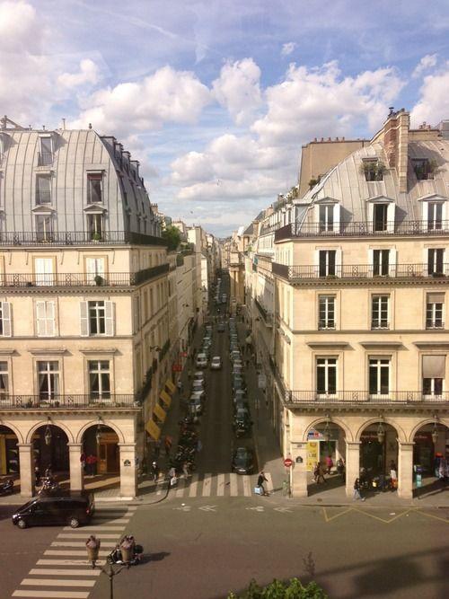 Rue de Rivoli - París.
