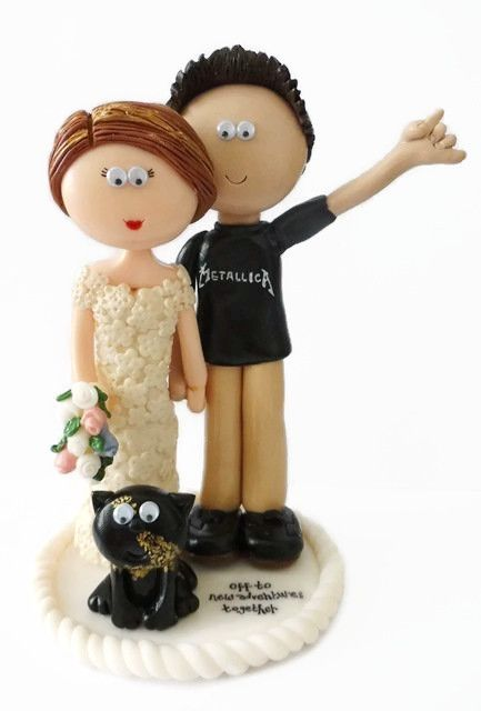 Wedding Cake Custom Tattoo Toppers